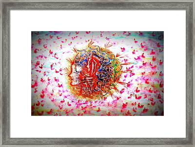 Women Empowerment Framed Print by Karunita Kapoor