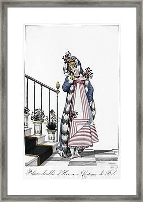 Women's Fashion, C1814 Framed Print by Granger