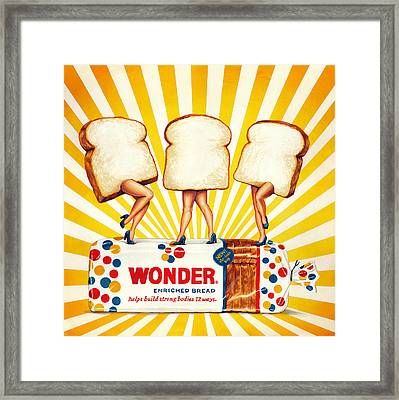Wonder Women Framed Print by Kelly Gilleran
