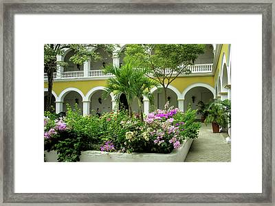 Wonderful Architecture Of The Venerable Framed Print by Jerry Ginsberg
