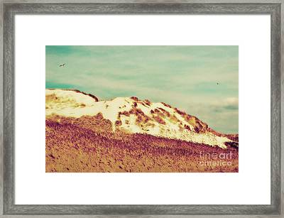 Wonderful Island Retro Framed Print by Angela Doelling AD DESIGN Photo and PhotoArt