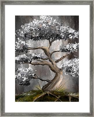 Wonderfully Gray - Shades Of Gray Art Framed Print by Lourry Legarde