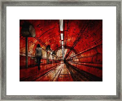 Wondering Framed Print by Jack Zulli