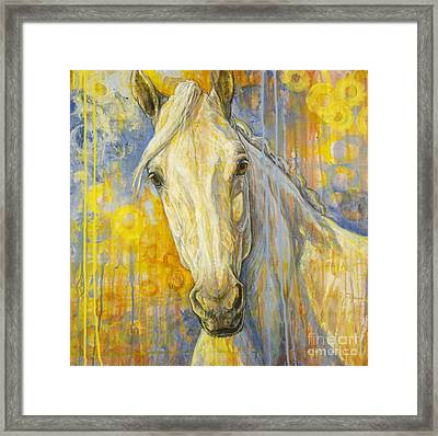 Wondering Framed Print by Silvana Gabudean