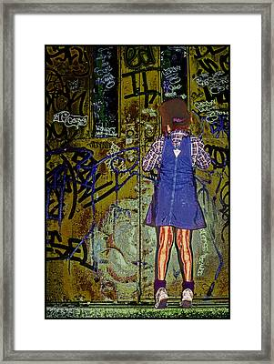 Wondering What's Inside Framed Print by Kellice Swaggerty