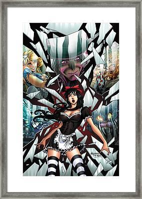 Wonderland 02c Framed Print by Zenescope Entertainment