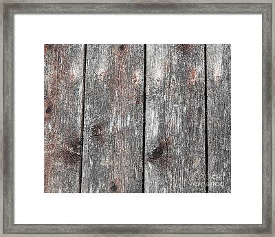 Wood II Framed Print by Bruce Stanfield
