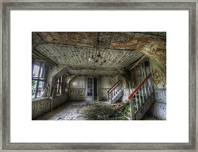 Wood Room Framed Print by Nathan Wright