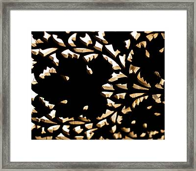 Wood Work Framed Print by Christi Kraft