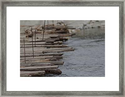 Wooden Bridge  Framed Print by Ramabhadran Thirupattur