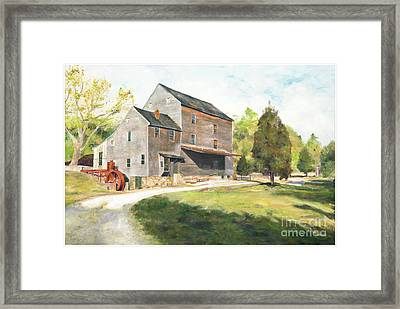 Woodsons Mill Framed Print by J Luis Lozano