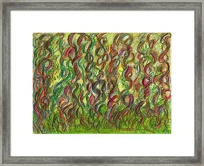 Wooing Nature Framed Print by Kelly K H B
