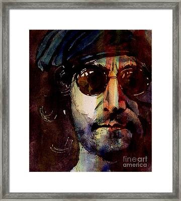Working Class Hero Framed Print by Paul Lovering