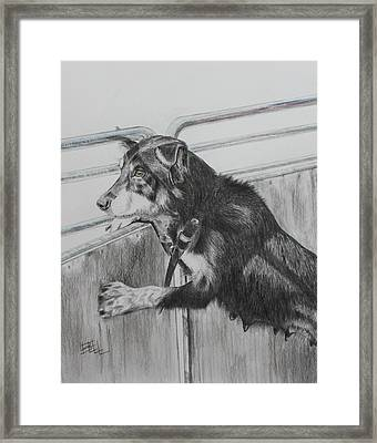 Working Mother Framed Print by Leonie Bell