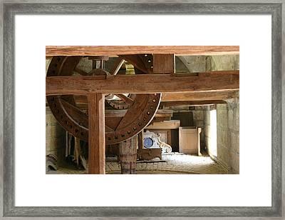 Workshop In Besancon Framed Print by A Morddel