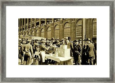 World Series 1920 Framed Print by Benjamin Yeager