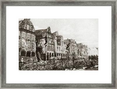 World War I Arras Framed Print by Granger
