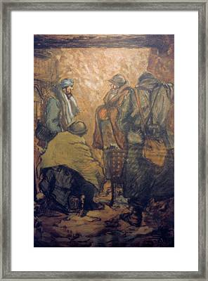 World War I Trench, 1918 Framed Print by Granger