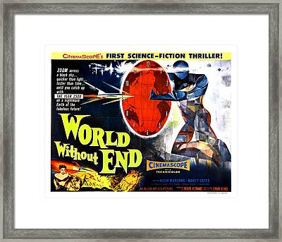 World Without End Poster Framed Print by Gianfranco Weiss