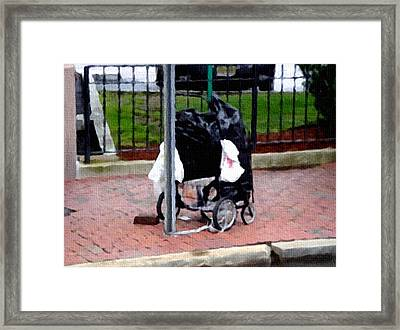 Worldly Possessions Framed Print by Dennis Buckman