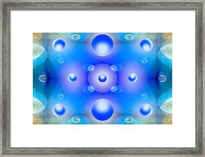 Worlds Collide 1 Framed Print by Mike McGlothlen