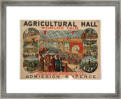World's Fair Framed Print by British Library