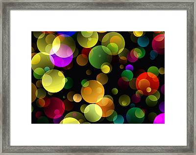 Worlds Without End 2 Framed Print by Daniel Hagerman