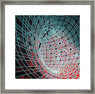 Wormhole Framed Print by Twilight Vision