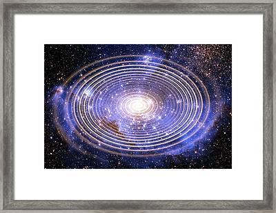 Wormhole Framed Print by Victor De Schwanberg