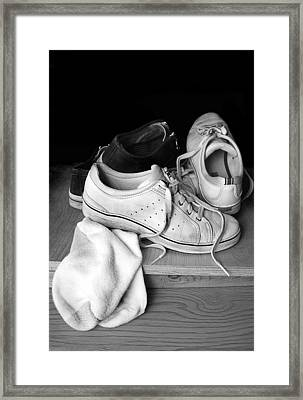 Worn Framed Print by Marcia Colelli