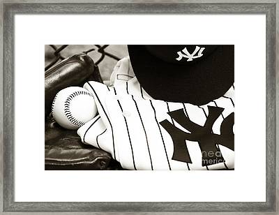 Worn With Pride Framed Print by John Rizzuto