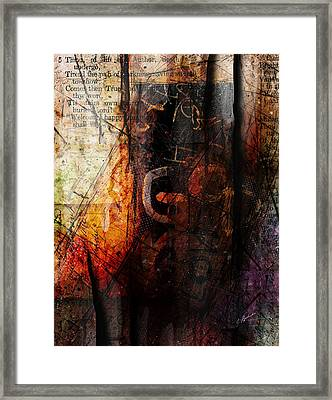 Wounded  Framed Print by Gary Bodnar