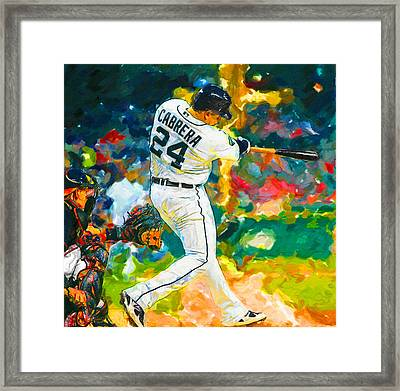 Wow Cabrera Framed Print by John Farr
