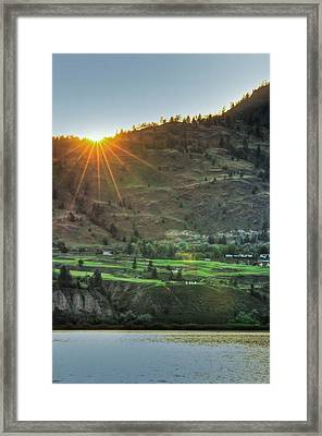 Wow Golf Framed Print by Eti Reid