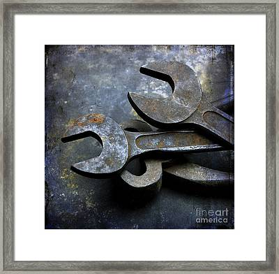Wrenchs Framed Print by Bernard Jaubert