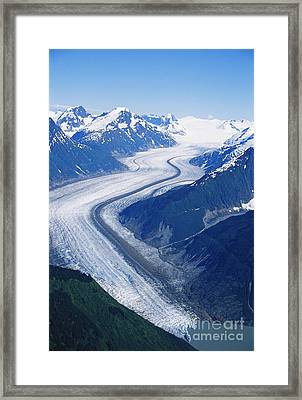 Wright Glacier Framed Print by Gregory G. Dimijian, M.D.