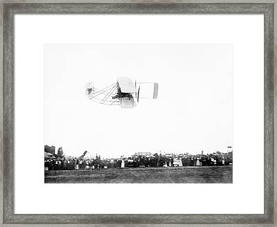 Wright Model A Airplane Framed Print by Library Of Congress