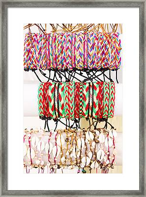 Wrist Bands Framed Print by Tom Gowanlock