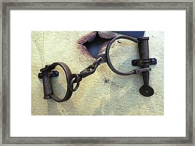 Wrist Bracelets Framed Print by Steven Parker