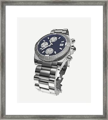 Wristwatch Framed Print by Dorling Kindersley/uig