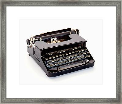 Write A Letter Framed Print by David and Carol Kelly