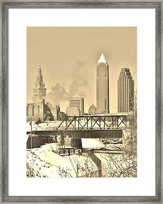 Write Framed Print by Don Teramano
