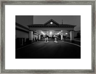 Wrong Way Framed Print by Bob Orsillo