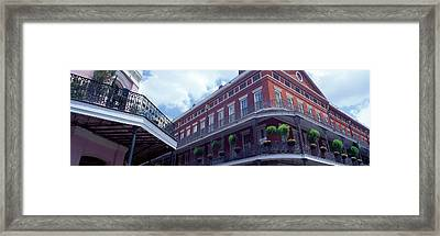 Wrought Iron Balcony New Orleans La Usa Framed Print by Panoramic Images