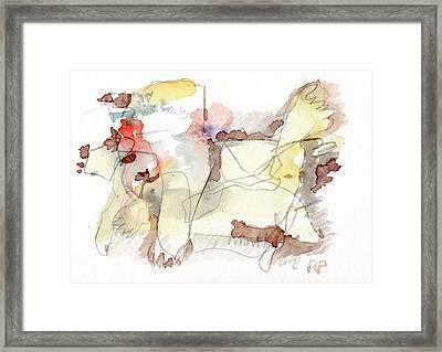 W.t. Framed Print by Reiner Poser