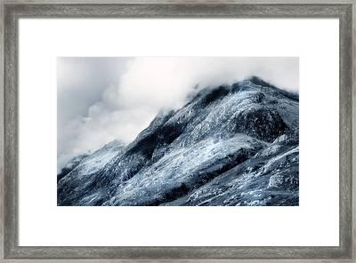 Wuthering Heights. Glencoe. Scotland Framed Print by Jenny Rainbow