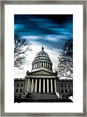 Wv State Capitol Building Framed Print by Shane Holsclaw
