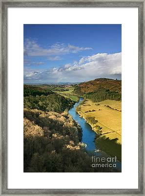 Wye Valley From Symonds Yat Framed Print by Rod McLean