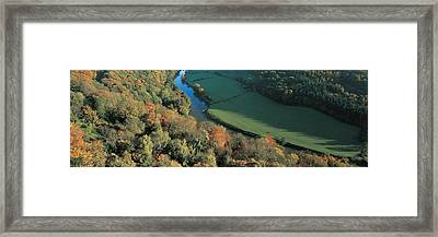 Wye Valley S Wales Framed Print by Panoramic Images