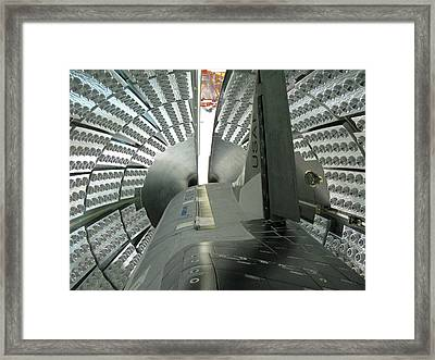 Framed Print featuring the photograph X-37b Orbital Test Vehicle by Science Source